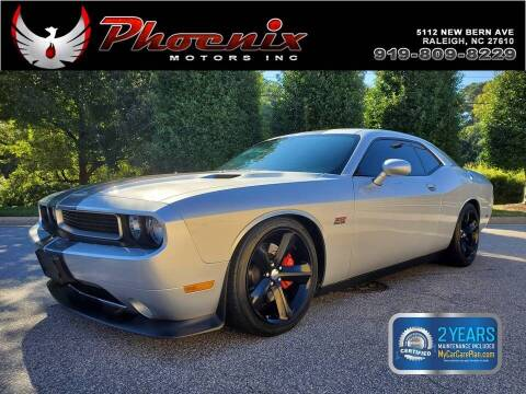 2012 Dodge Challenger for sale at Phoenix Motors Inc in Raleigh NC