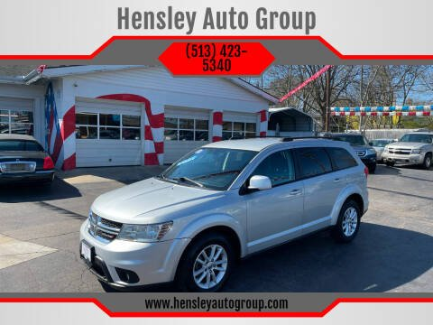 2013 Dodge Journey for sale at Hensley Auto Group in Middletown OH