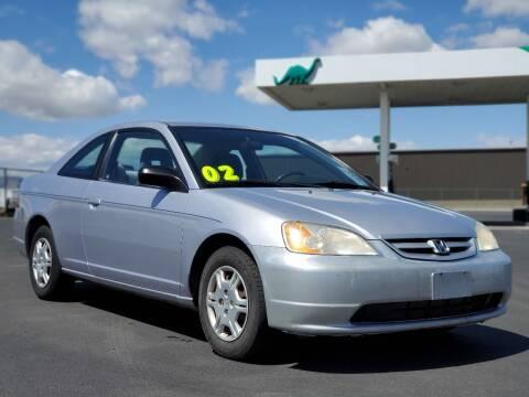 2002 Honda Civic for sale at FRESH TREAD AUTO LLC in Springville UT