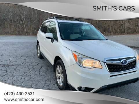 2014 Subaru Forester for sale at Smith's Cars in Elizabethton TN