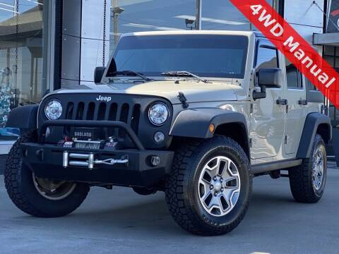 2017 Jeep Wrangler Unlimited for sale at Carmel Motors in Indianapolis IN
