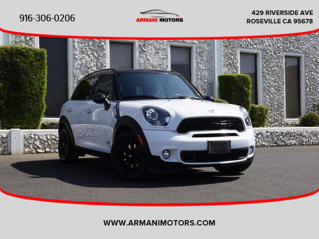 2013 MINI Countryman for sale at Armani Motors in Roseville CA