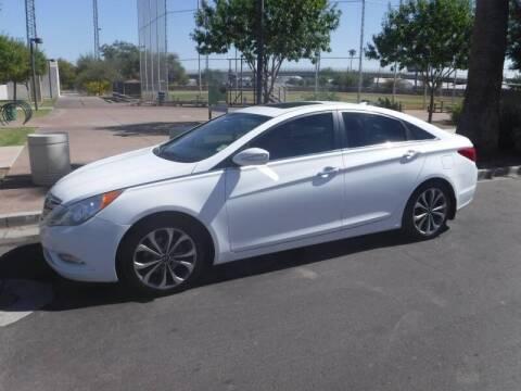 2013 Hyundai Sonata for sale at J & E Auto Sales in Phoenix AZ