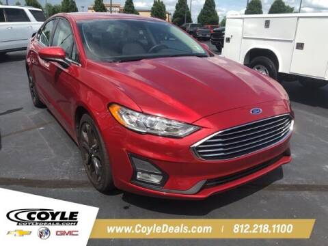 2020 Ford Fusion for sale at COYLE GM - COYLE NISSAN - New Inventory in Clarksville IN