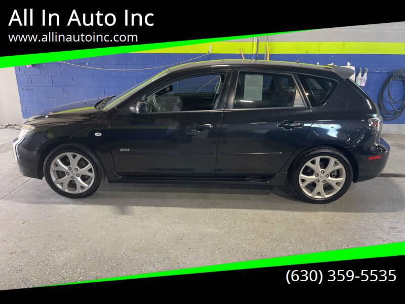 2007 Mazda MAZDA3 for sale at All In Auto Inc in Addison IL