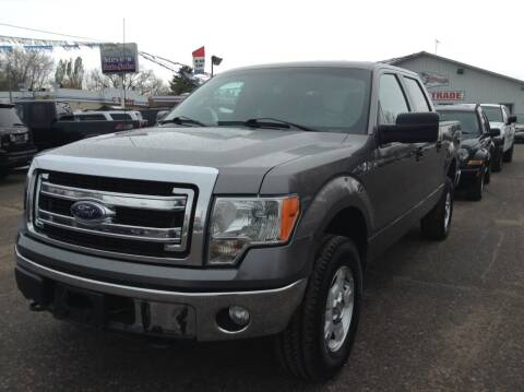 2014 Ford F-150 for sale at Steves Auto Sales in Cambridge MN