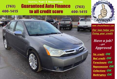 2008 Ford Focus for sale at Capital Fleet  & Remarketing  Auto Finance in Columbia Heights MN