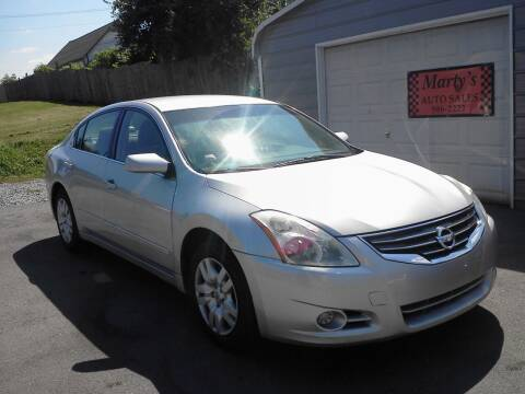 2011 Nissan Altima for sale at Marty's Auto Sales in Lenoir City TN