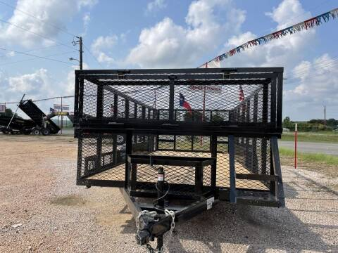 """2021 P & C  - LANSCAPE 83"""" X 16' - B for sale at LJD Sales in Lampasas TX"""