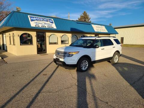 2015 Ford Explorer for sale at Dukes Auto Sales in Glyndon MN
