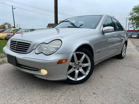 2004 Mercedes-Benz C-Class for sale at Texas Select Autos LLC in Mckinney TX