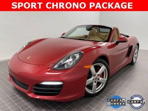 2014 Porsche Boxster for sale at CERTIFIED AUTOPLEX INC in Dallas TX