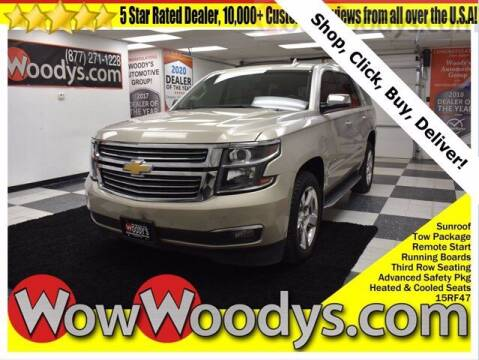 2015 Chevrolet Tahoe for sale at WOODY'S AUTOMOTIVE GROUP in Chillicothe MO