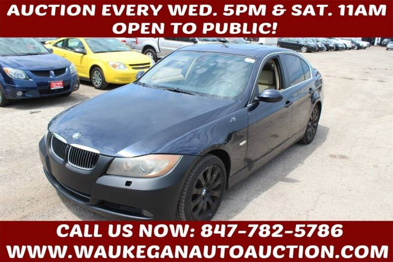 2006 BMW 3 Series for sale at Waukegan Auto Auction in Waukegan IL