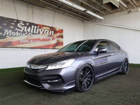 2017 Honda Accord for sale at SULLIVAN MOTOR COMPANY INC. in Mesa AZ