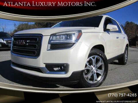2013 GMC Acadia for sale at Atlanta Luxury Motors Inc. in Buford GA