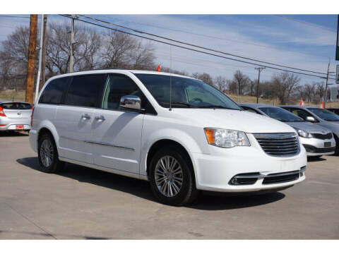 2014 Chrysler Town and Country for sale at Sand Springs Auto Source in Sand Springs OK