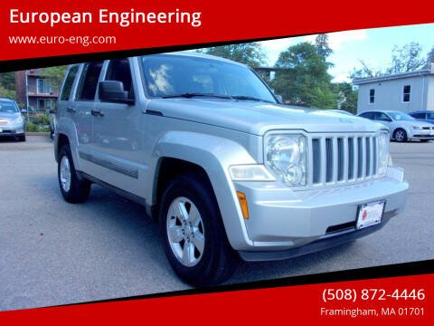 2012 Jeep Liberty for sale at European Engineering in Framingham MA