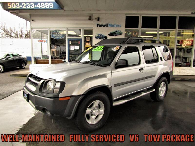 2002 Nissan Xterra for sale at Powell Motors Inc in Portland OR