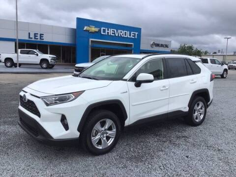 2020 Toyota RAV4 Hybrid for sale at LEE CHEVROLET PONTIAC BUICK in Washington NC
