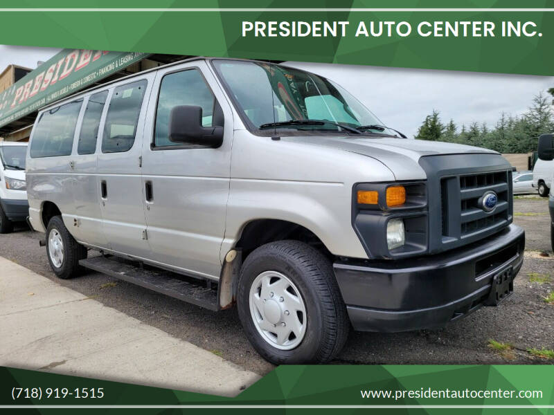 2011 Ford E-Series Wagon for sale at President Auto Center Inc. in Brooklyn NY