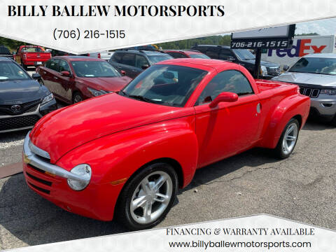 2004 Chevrolet SSR for sale at Billy Ballew Motorsports in Dawsonville GA