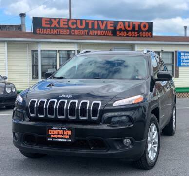 2015 Jeep Cherokee for sale at Executive Auto in Winchester VA