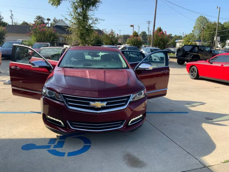 2017 Chevrolet Impala for sale at A & K Auto Sales in Mauldin SC