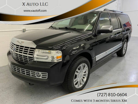 2010 Lincoln Navigator L for sale at X Auto LLC in Pinellas Park FL