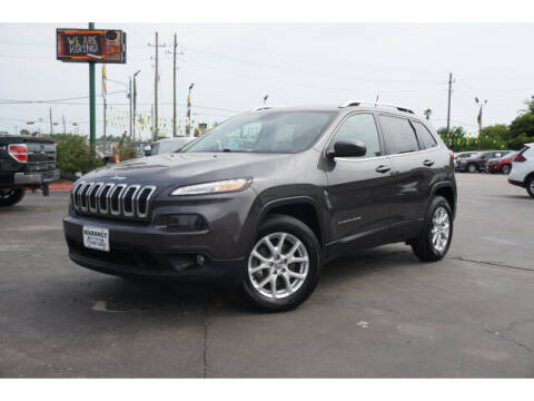 2018 Jeep Cherokee for sale at Maroney Auto Sales in Humble TX