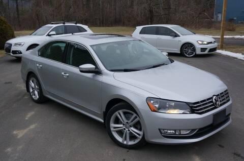 2014 Volkswagen Passat for sale at EuroMotors LLC in Lee MA