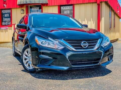2018 Nissan Altima for sale at MAGNA CUM LAUDE AUTO COMPANY in Lubbock TX