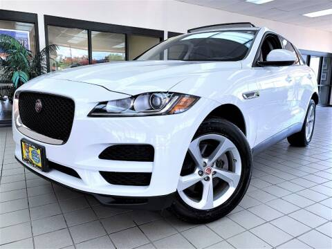 2018 Jaguar F-PACE for sale at SAINT CHARLES MOTORCARS in Saint Charles IL