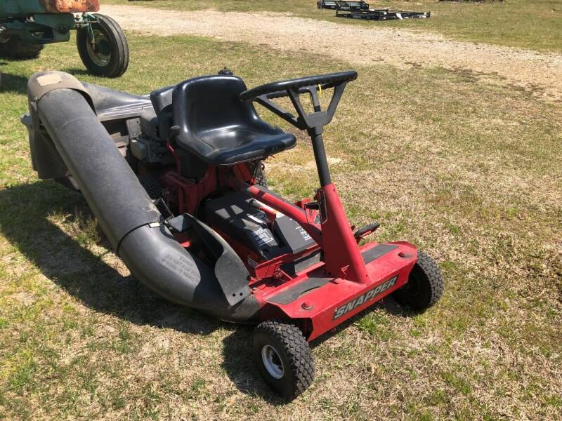 2010 Snapper Rear Engine Rider for sale at JFS POWER EQUIPMENT in Sims NC
