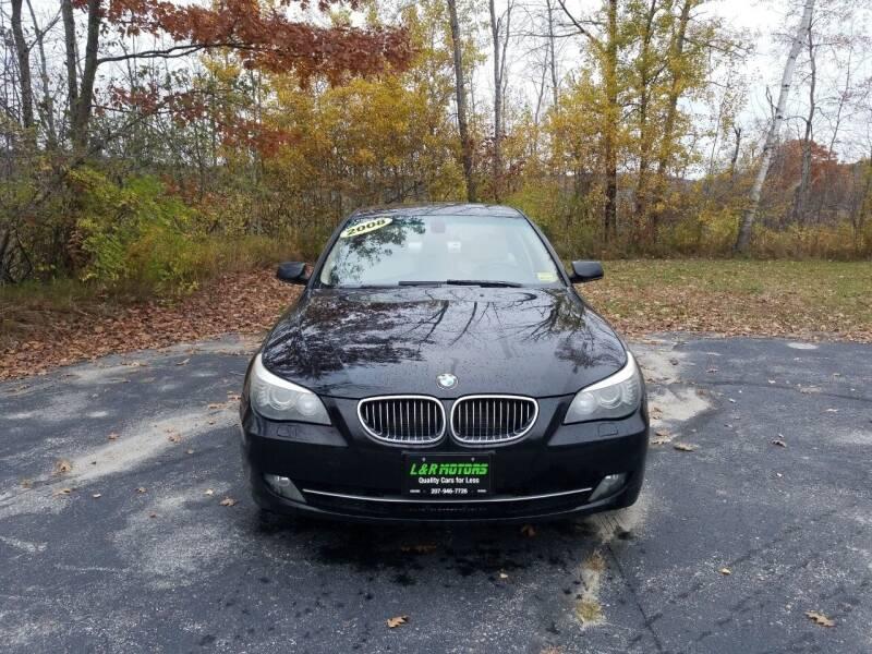 2008 BMW 5 Series for sale at L & R Motors in Greene ME