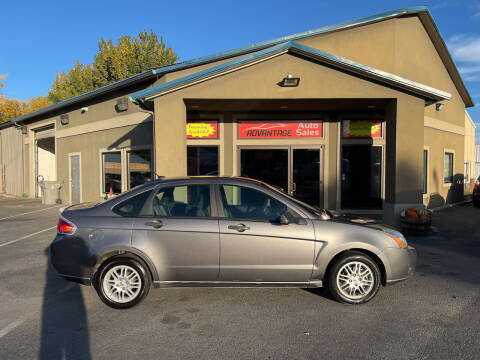 2011 Ford Focus for sale at Advantage Auto Sales in Garden City ID