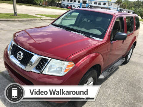 2008 Nissan Pathfinder for sale at ULTIMATE AUTO IMPORTS in Longwood FL