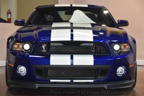 2013 Ford Shelby GT500 for sale at Tampa Bay AutoNetwork in Tampa FL