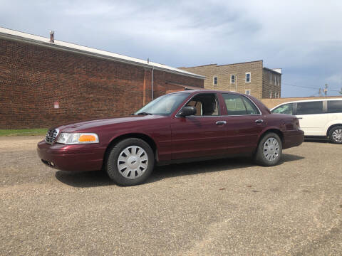 2008 Ford Crown Victoria for sale at Jim's Hometown Auto Sales LLC in Byesville OH