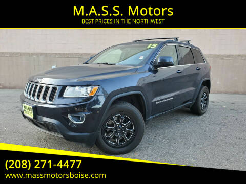 2015 Jeep Grand Cherokee for sale at M.A.S.S. Motors in Boise ID