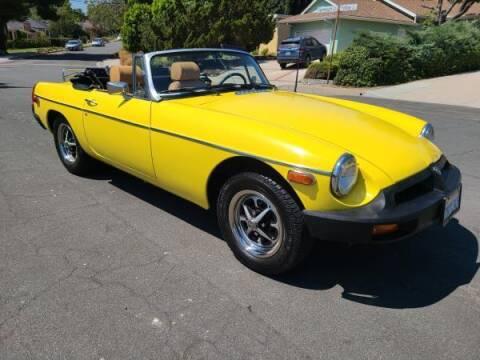 1975 MG MGB for sale at CAR CITY SALES in La Crescenta CA