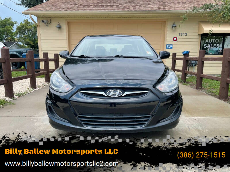 2012 Hyundai Accent for sale at Billy Ballew Motorsports LLC in Daytona Beach FL