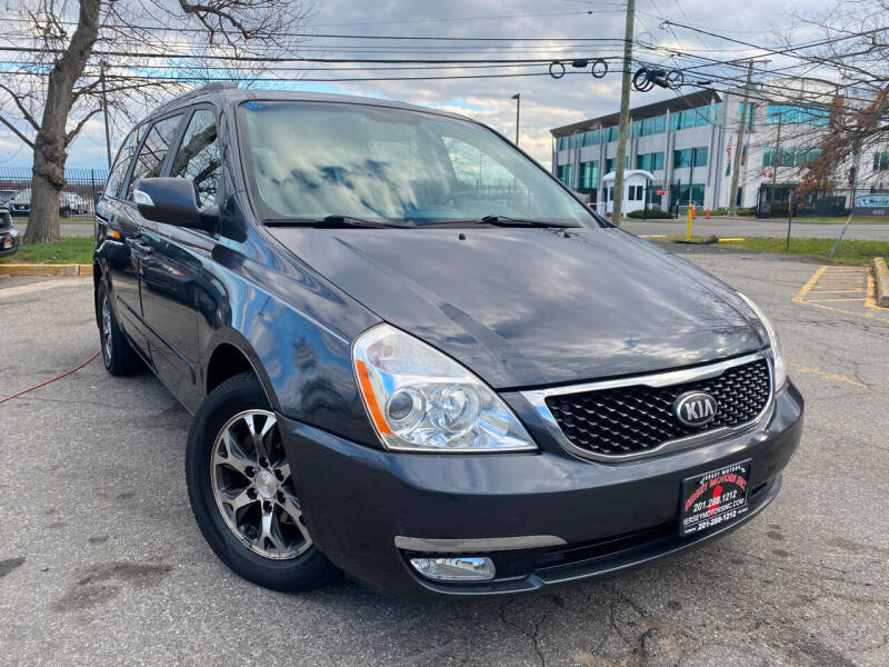 2014 Kia Sedona for sale at JerseyMotorsInc.com in Teterboro NJ