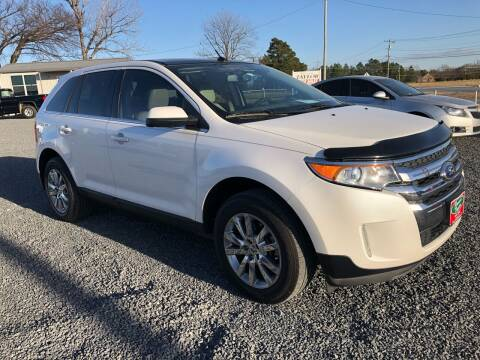 2014 Ford Edge for sale at RAYMOND TAYLOR AUTO SALES in Fort Gibson OK