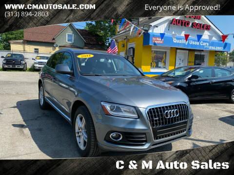 2014 Audi Q5 for sale at C & M Auto Sales in Detroit MI