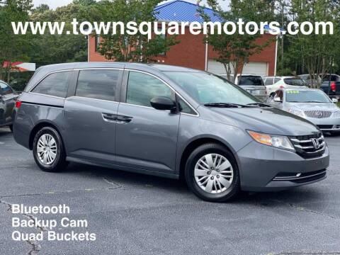 2014 Honda Odyssey for sale at Town Square Motors in Lawrenceville GA