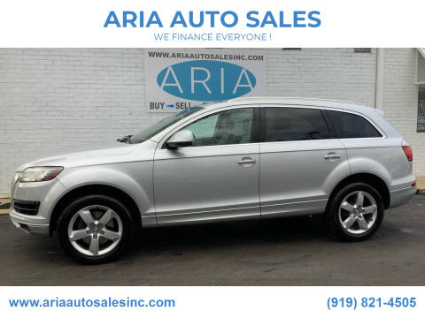 2014 Audi Q7 for sale at ARIA  AUTO  SALES in Raleigh NC