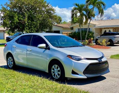 2017 Toyota Corolla for sale at Venmotors LLC in Hollywood FL