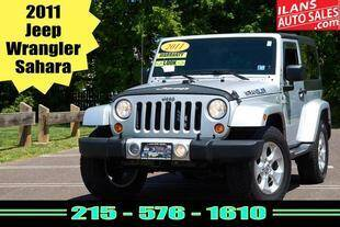 2011 Jeep Wrangler for sale at Ilan's Auto Sales in Glenside PA