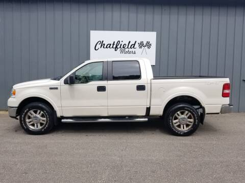 2007 Ford F-150 for sale at Chatfield Motors in Chatfield MN